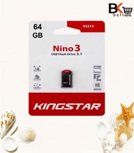 فلش مموری 64 گیگابایت کینگ استار مدل Nino 3 KS315