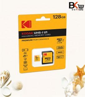 رم میکرو اس دی 128 گیگ کالر کداک UHS-I U1 Class10 R85