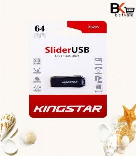 فلش مموری 64 گیگابایت کینگ استار مدل Slider USB 2.0 KS205