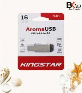فلش مموری 16 گیگابایت کینگ استار مدل Aroma USB 2.0 KS201