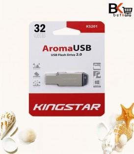 فلش مموری 32 گیگابایت کینگ استار مدل Aroma USB 2.0 KS201