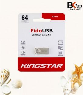 فلش مموری 64 گیگابایت کینگ استار مدل Fido USB 2.0 KS218