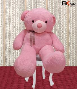 خرس عروسکی صورتی سایز بزرگ