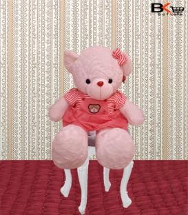 خانم خرس عروسکی مهربون سایز بزرگ