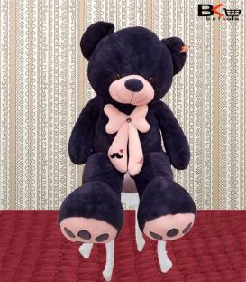 آقا خرس عروسکی پاپیون دار سایز بزرگ