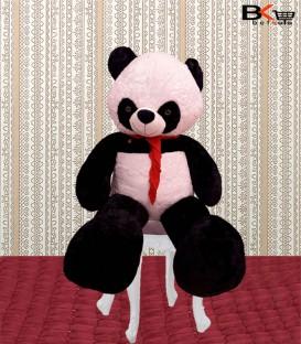 خرس پاندا عروسکی پاپیون دار سایز بزرگ