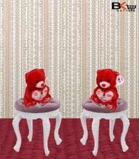 خرس عروسکی قلبی قرمز مخصوص ولنتاین