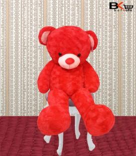خرس عروسکی قرمز مخصوص ولنتاین سایز بزرگ