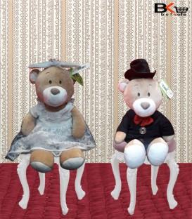 عروسک عروس و دادماد خرسی