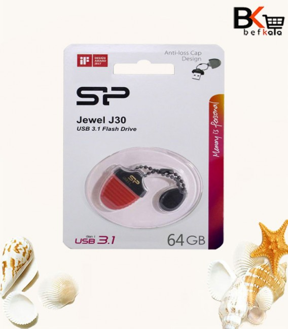 فلش مموری سیلیکون پاور مدل Jewel J30 ظرفیت 64 گیگابایت