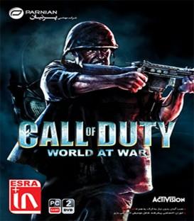 بازی کامپیوتری ندای وظیفه جنگ در جهان Call of Duty World at War