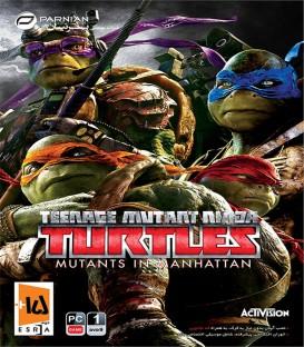 بازی کامپیوتری لاک پشت های نینجا جهش در منهتن TMNT Mutants in Manhattan