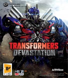بازی کامپیوتری تبدیل شوندگان انهدام Transformers Devastation