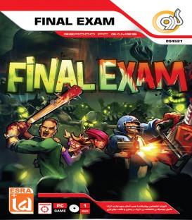 بازی کامپیوتری امتحان نهایی FINAL EXAM