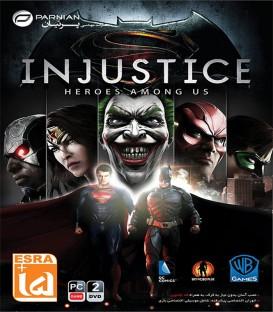 بازی کامپیوتری نبرد قهرمانان Injustice Heroes Among Us