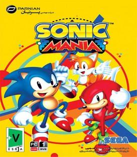 بازی کامپیوتری سونیک Sonic Mania