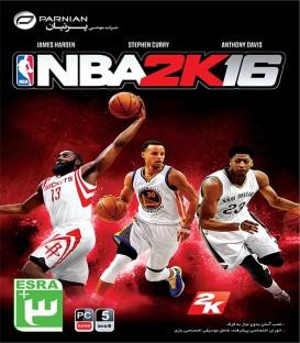 بازی کامپیوتری بسکتبال حرفه ای NBA 2K16