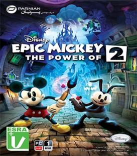 بازی کامپیوتری حماسه میکی Disney Epic Mickey 2 The Power of Two