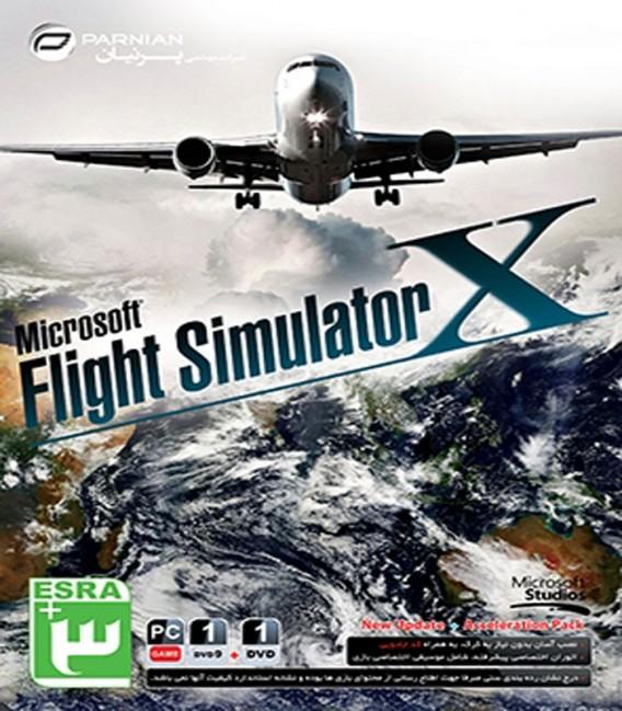 بازی کامپیوتری شبیه ساز پرواز مایکروسافت Microsoft Flight Simulator X