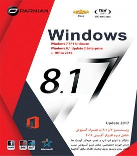 نرم افزار ویندوز Windows 7 & Windows 8.1 (No.2) + Office 2016