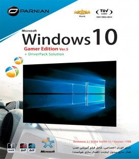 نرم افزار ویندوز Windows 10 Gamer Edition (Ver.5) + DriverPack